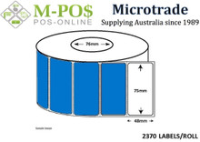 Barcode Labels |Thermal Transfer Labels | 75x48x76 | Microtrade