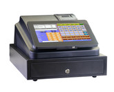 10.1 inch touch screen POS Cash Register with printer and cash drawer