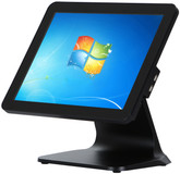 "15.6"" Point of Sale All In One Touch POS Terminal 4G 128G Black"