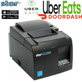 DoorDash App Android Compatible Star TSP143 Bluetooth Order Printer