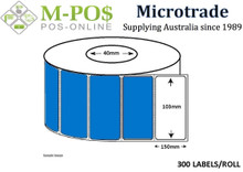 Barcode Labels | Direct Thermal Labels | 103x150x40 | Microtrade
