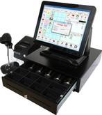 Point of Sale All in one POS Terminal with printer scanner cash drawer