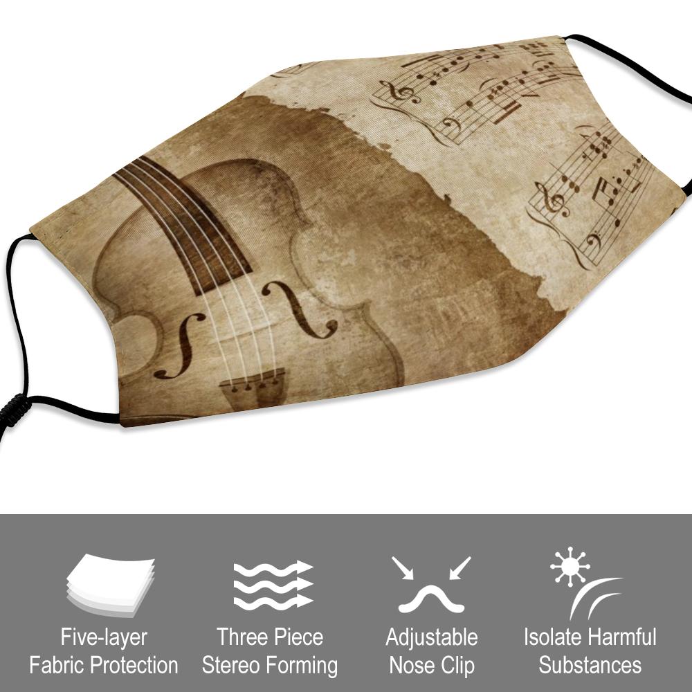 Violin Mask - Antique Violin - Specifications