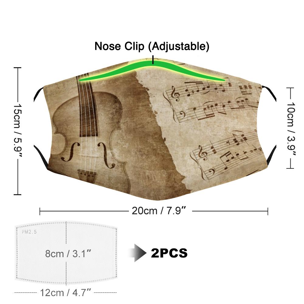 Violin Mask - Nose Clip