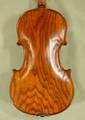 4/4 MAESTRO VASILE GLIGA Ash One Piece Back Violin Guarneri Model - Code B7189