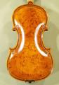 Unique Gliga Maestro Violin, Bird's Eye Wood, Rice Grain Carving, Gliga Signature Sunflower Scroll - Guarneri Design - Code C6987V