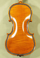 Rare 4/4 MAESTRO VASILE GLIGA Violin | Manually Inlayed Bone and Ebony Purfling | Copy of Famous 'Hellier 1679' - Code C6986V