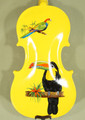 1/4 Gems 1 Elite Intermediate/Advanced Level Violin - Exotic Birds Design - Code C0944V