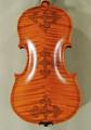 4/4 MAESTRO VASILE GLIGA Elite Violin - Manually Inlaid Double Purfling Celtic Flower Design - Code D0918V
