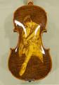 4/4 MAESTRO VASILE GLIGA 'BALLERINA' Pyrogravure One Piece Back Violin - Code B4552V