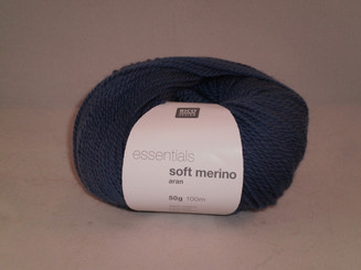 Rico Essentials Soft Merino Aran in Ocean