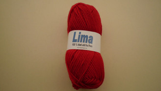 Lima yarn in Shade 2060 Red