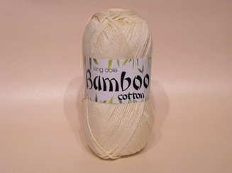 King Cole Bamboo Cotton Double Knit yarn in Lemon Sorbet