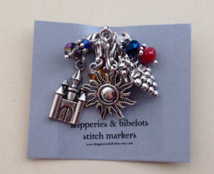Game of Thrones inspired stitch markers: Set 3