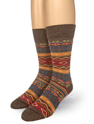 Tribal Socks Front