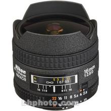 Nikon Fisheye AF Nikkor 16mm f/2.8D 25 day/100 week/200 month