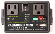 Paul C. Buff Vagabond Mini Lithium Remote Power Supply 15 day/120 week/240 month