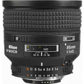 Nikkor AF 85mm f/1.4D IF  30 day/120 week/240 month