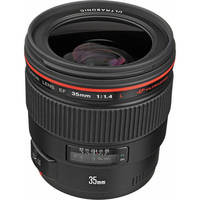 Canon USA EF 35mm f/1.4L USM Wide-Angle Lens 35 day/140 week/280 month