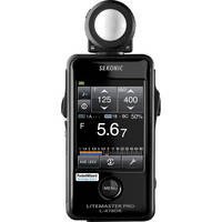 Sekonic  Litemaster Pro L-478DR Light Meter  10 day/40 week/80 month