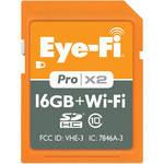 Eye-Fi 16GB SDHC Memory Card Pro X2 Wireless Class 10 12 day/48/week/96 month