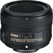 Nikon AF-S Nikkor 50mm f/1.8G Lens  15 day/60 week/120 month