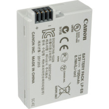 Canon LP-E8 Rechargeable Lithium-Ion Battery Pack (7.2V, 1120mAh)  5.00 day/20.00 week/40.00 month