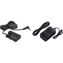 Canon AC-E6N AC Adapter and DC Coupler DR-E6 Kit  10 day/40 week/80 month