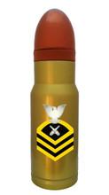 Gunners Mate Chief Brass Hollow Point AmmOMug®