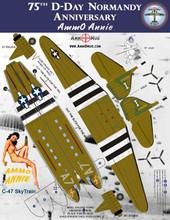 AmmO Annie C-47 SkyTrain Paper Airplane