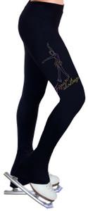 Skating Pants with Spangles S104