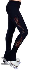 Skating Pants with Spangles S115
