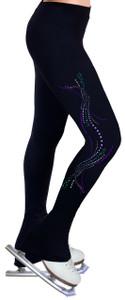 Skating Pants with Spangles S116