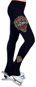 Skating Pants with Rhinestones R93