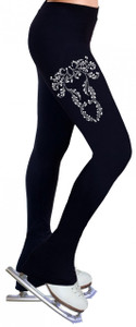Skating Pants with Rhinestones R126