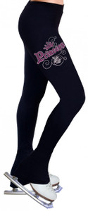 Skating Pants with Rhinestones R129
