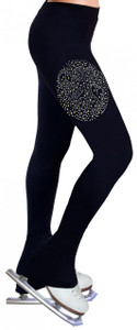 Skating Pants with Rhinestones R151