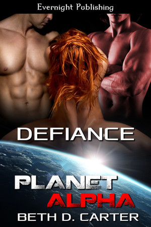Genre: Sci-Fi Menage (MFM) Romance  Heat Level: 4  Word Count: 31, 655  ISBN: 978-1-77233-016-8  Editor: Karyn White  Cover Artist: Sour Cherry Designs