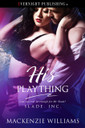 Genre: BDSM Romance  Heat Level: 4  Word Count: 28, 540  ISBN: 978-1-77339-123-6  Editor: Karyn White  Cover Artist: Jay Aheer