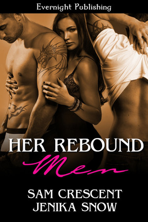 Genre: Contemporary Menage (MFM) Romance  Heat Level: 4  Word Count: 42, 790  ISBN: 978-1-77130-566-2  Editor: Karyn White  Cover Artist: Sour Cherry Designs