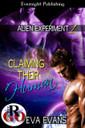 Genre: Sci-Fi Alternative (MMM) Romance  Heat Level: 3  Word Count: 10, 970  ISBN: 978-1-77130-624-9  Editor: JC Chute  Cover Artist: Sour Cherry Designs