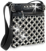 Cross Gem Sparkle Cross Body Bag CBHD-1922 a10e43971ce29