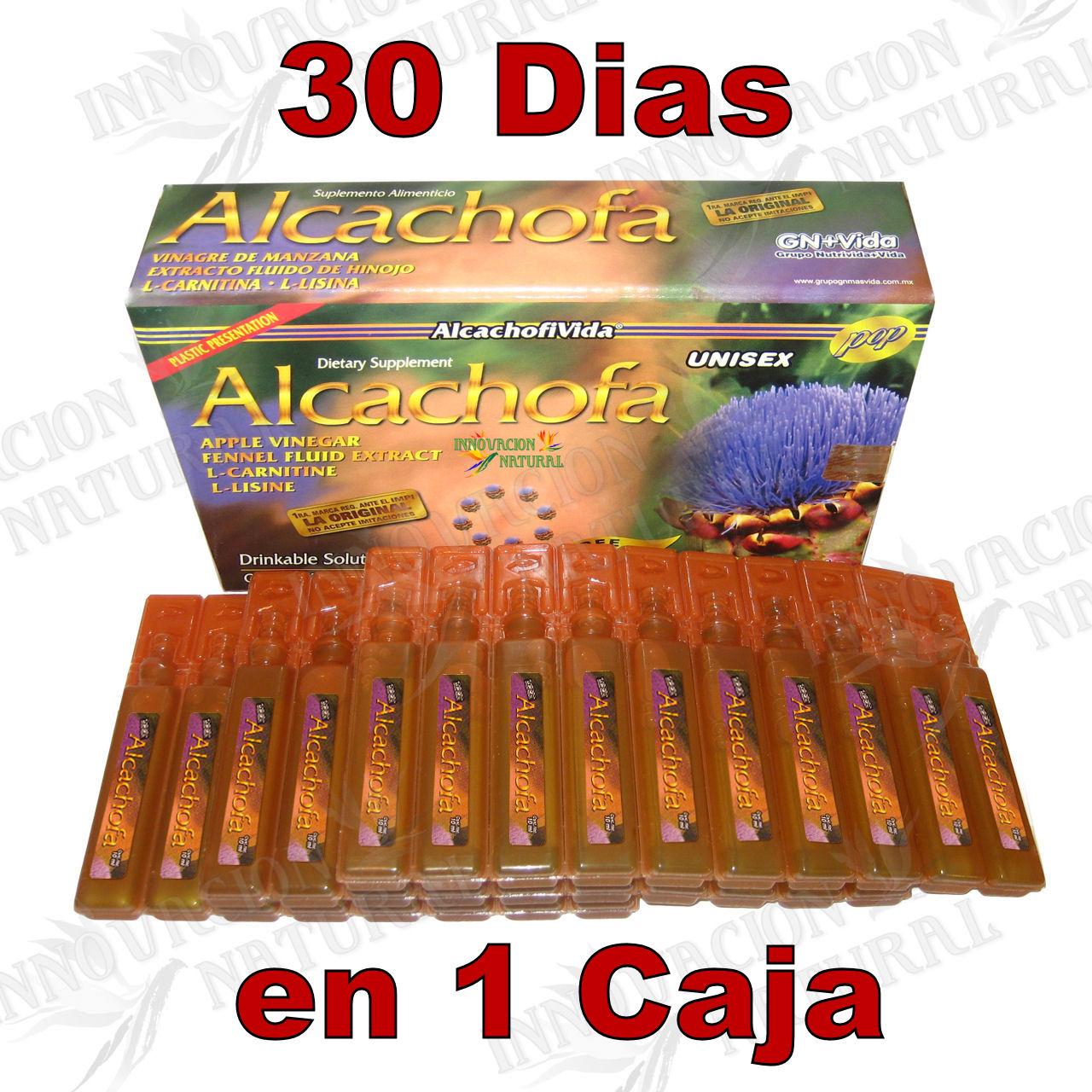 Ampolletas de alcachofa para adelgazar inyectables