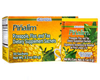 Pinalim Tea Detox Pineapple USA Presentation