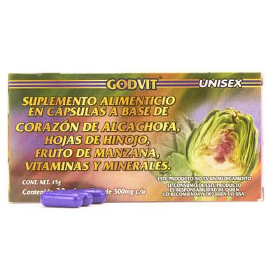 Capsulas de Alcachofa GN+Vida