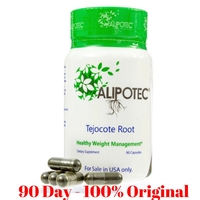 Alipotec Capsulas - 90 Day Supply Tejocote Root Supplement Capsules