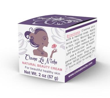 Crema La Niche 100% Natural Para Minimizar Manchas en La Piel