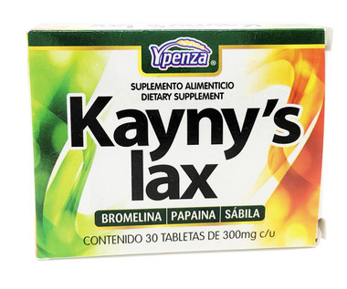 Kaynys Lax Laxante Natural alternativa a Gentilax o Similaxol