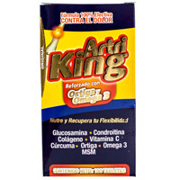 Artri King Ortiga con Omega 3 Para Dolor