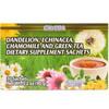 Immune Aid Tea Based on Dandelion, Echinacea, Chamomile and Green Tea
